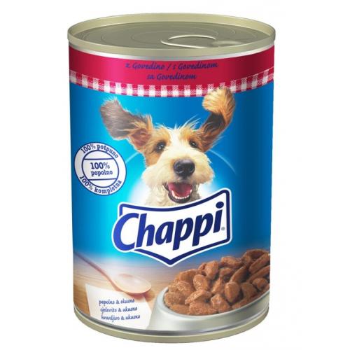 Консерва Chappi Говеждо и моркови