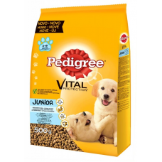 Суха храна Pedigree Dry за малки кученца от средни породи
