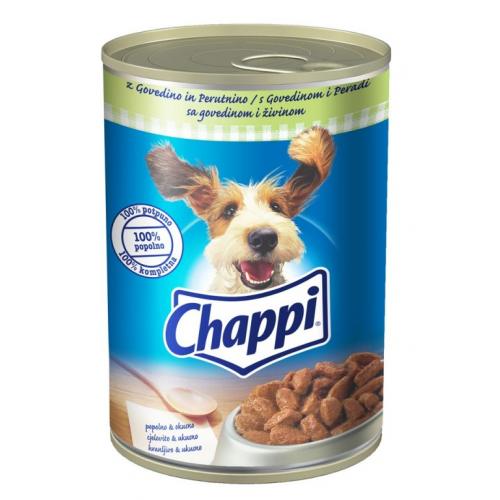 Консерва Chappi Говеждо и птиче месо