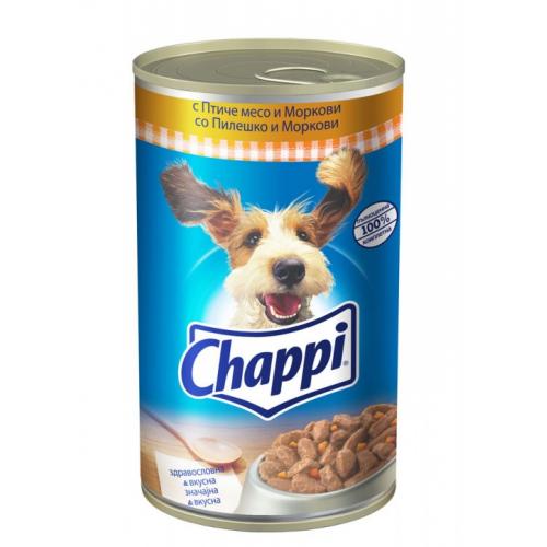 Консерва Chappi Птиче месо и моркови