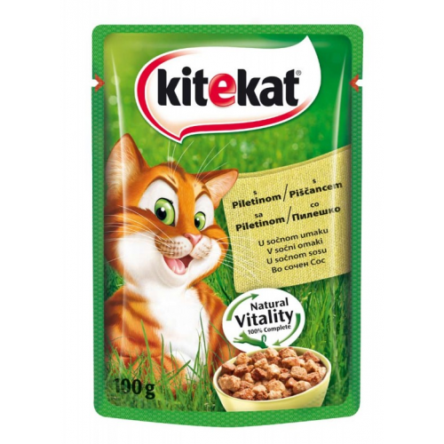 KiteKat Pouch Пилешко