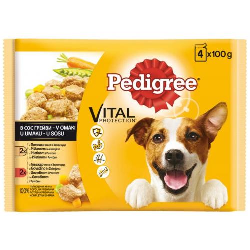 Pedigree Pouch за възрастни кучета Multi Pack