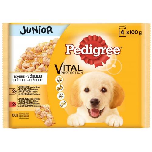 Pedigree Pouch за малки кученца Multi Pack